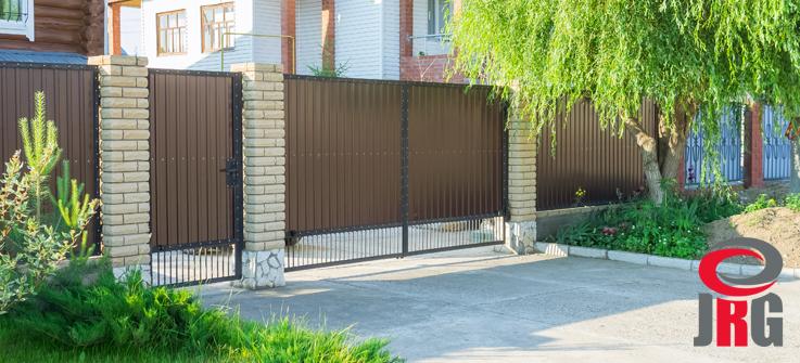 portão seccionado